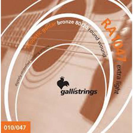 Galli RA1047 Guitar Set, Ex Light, Bronze