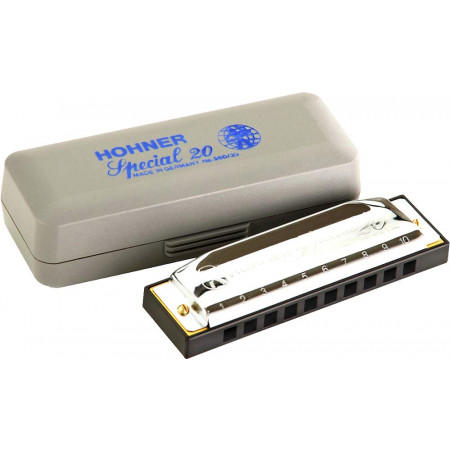 Hohner Special 20 Harp in F