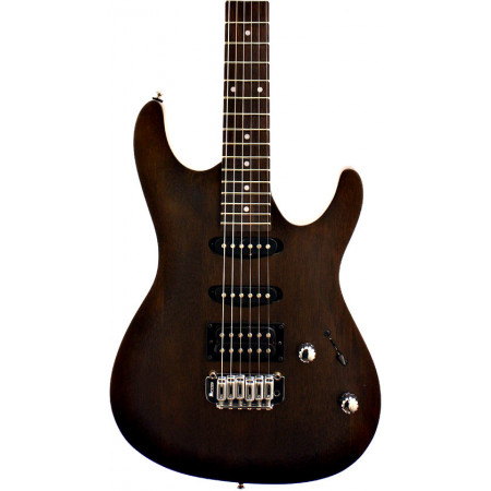 Ibanez SA Series Gio Electric Guitar, HSS, Walnut