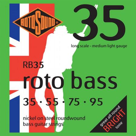 Rotosound RB35 Roto Bass Strings, Light