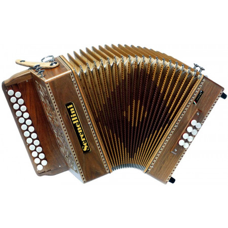 Serenellini 233 Deluxe in D/G Melodeon