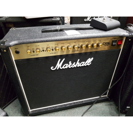 Marshall DSL 40C valve amp. Lovely condition with footswitch