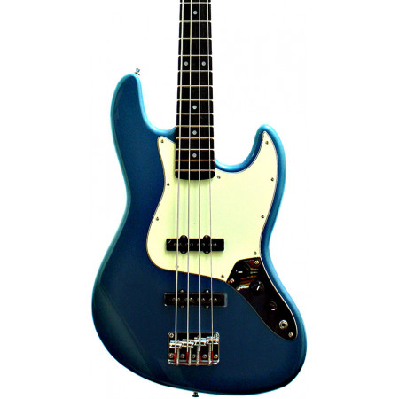 SX 8694BU Electric Bass JB, Blue