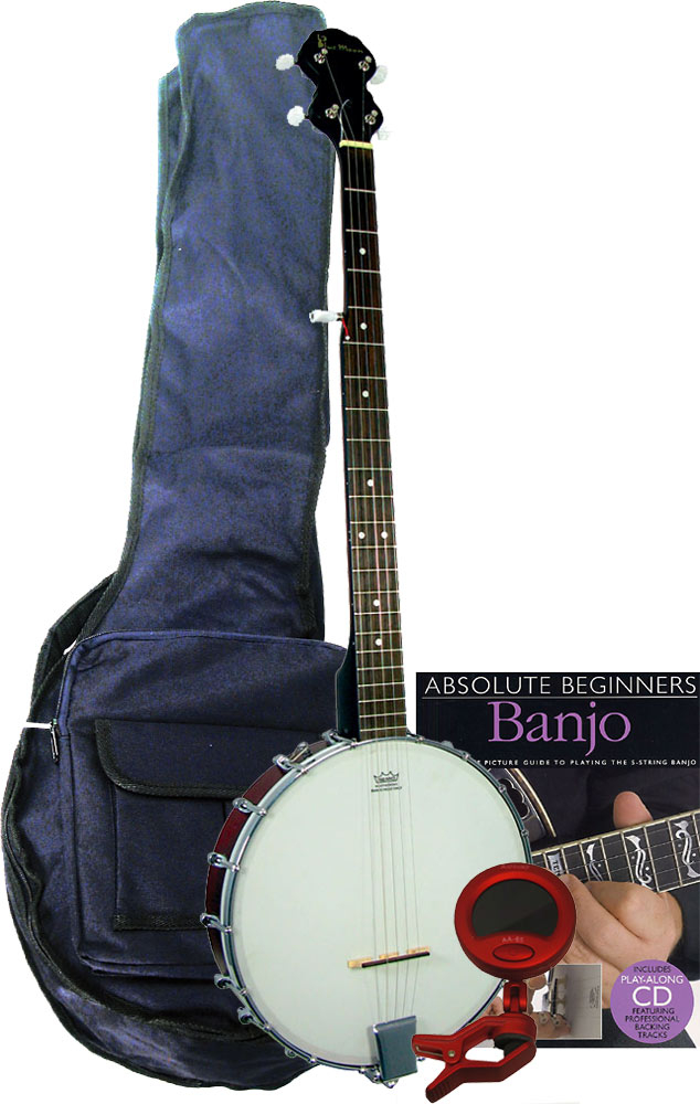 5 string Banjo gift pack